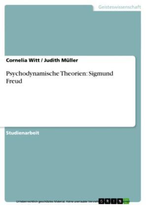 Psychodynamische Theorien: Sigmund Freud