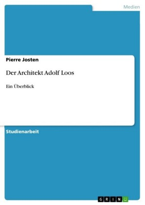 Der Architekt Adolf Loos