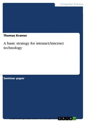 A basic strategy for intranet/internet technology