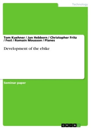 Development of the ebike