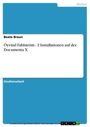 Öyvind Fahlström - 2 Installationen auf der Documenta X