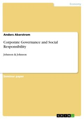 Corporate Governance and Social Responsibility
