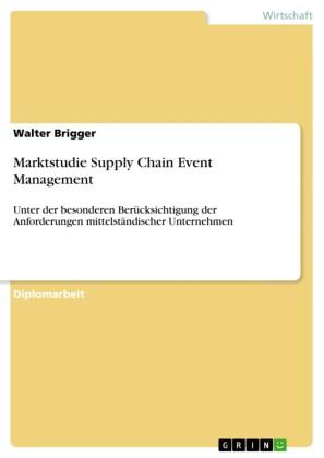 Marktstudie Supply Chain Event Management