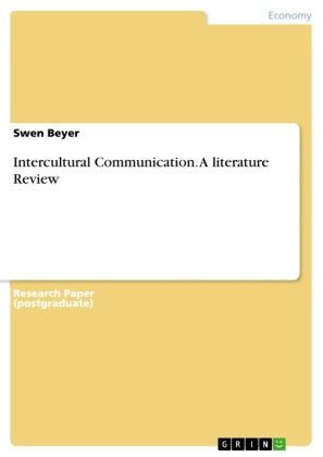 Intercultural Communication. A literature Review