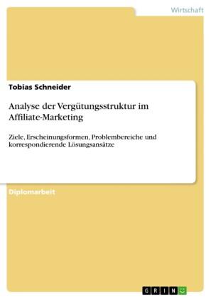 Analyse der Vergütungsstruktur im Affiliate-Marketing