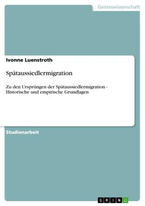Spätaussiedlermigration
