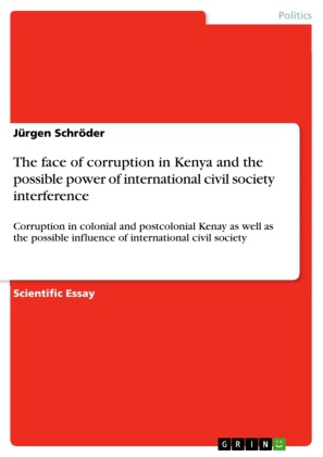 The face of corruption in Kenya and the possible power of international civil society interference
