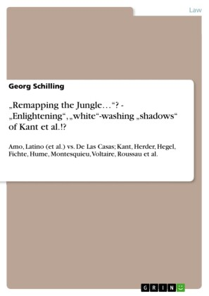 'Remapping the Jungle...'? - 'Enlightening', 'white'-washing 'shadows' of Kant et al.!?