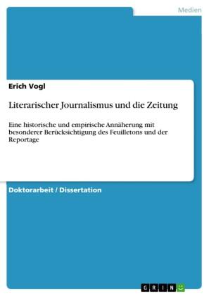 Literarischer Journalismus und die Zeitung