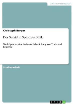 Der Suizid in Spinozas Ethik