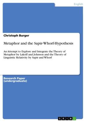 Metaphor and the Sapir-Whorf-Hypothesis