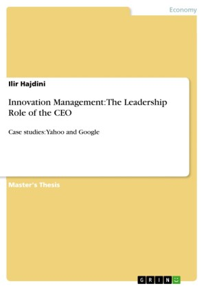 Innovation Management: The Leadership Role of the CEO