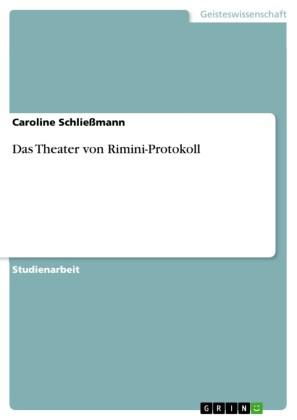 Das Theater von Rimini-Protokoll