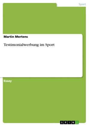 Testimonialwerbung im Sport