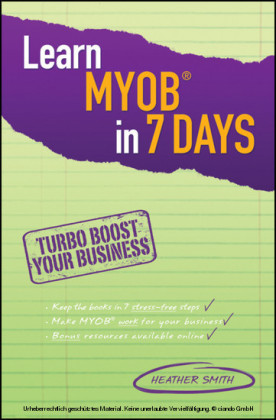 Learn MYOB in 7 Days