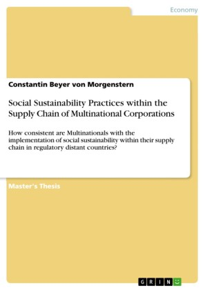 Social Sustainability Practices within the Supply Chain of Multinational Corporations