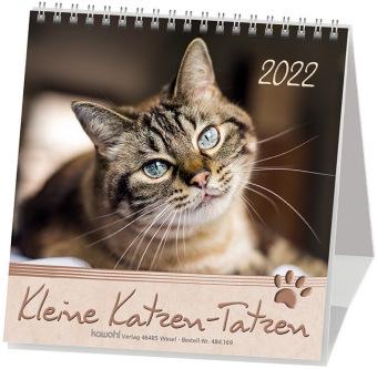 Kleine Katzen-Tatzen, Postkartenkalender 2020