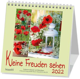 Kleine Freuden sehen, Postkartenkalender 2018