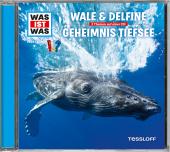 Wale & Delfine / Geheimnisse der Tiefsee, 1 Audio-CD Cover