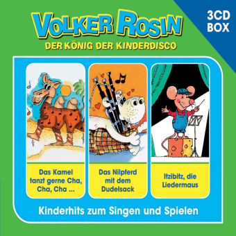 Volker Rosin 3-CD Liederbox, 3 Audio-CDs