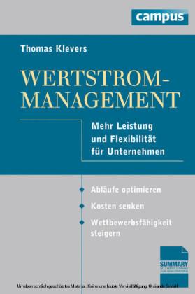Wertstrom-Management