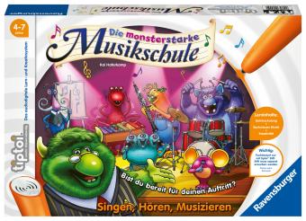 Die monsterstarke Musikschule (Spiel-Zubehörl)