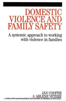 Domestic Violence and Family Safety