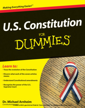 U.S. Constitution For Dummies