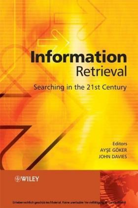 Information Retrieval,