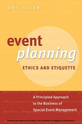 Event Planning Ethics and Etiquette