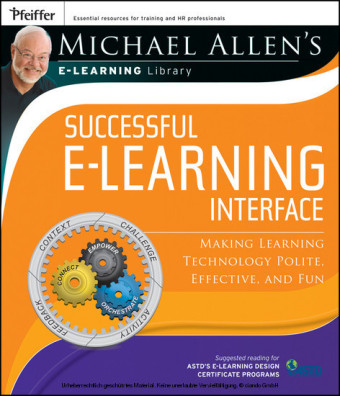 Michael Allen's Online Learning Library: Successful e-Learning Interface