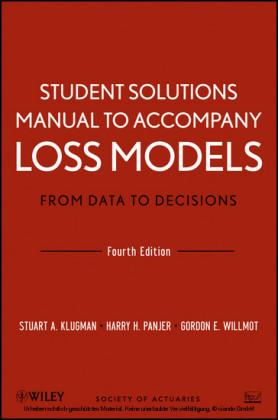 Loss Models, Student Solutions Manual