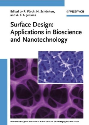 Surface Design: Applications in Bioscience and Nanotechnology