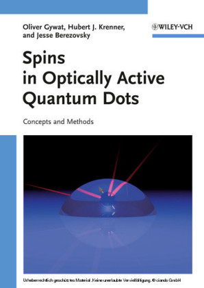 Spins in Optically Active Quantum Dots