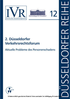 2. Düsseldorfer Verkehrsrechtsforum