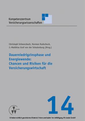 Dauerniedrigzinsphase und Energiewende: Chancen und Risiken für die Versicherungswirtschaft