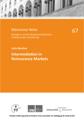Intermediation in Reinsurance Markets