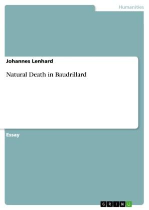 Natural Death in Baudrillard