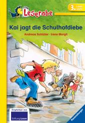 Kai jagt die Schulhofdiebe, Schulausgabe Cover