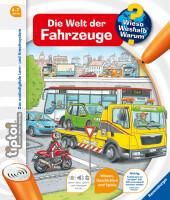 tiptoi® Die Welt der Fahrzeuge Cover