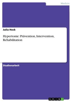 Hypertonie: Prävention, Intervention, Rehabilitation