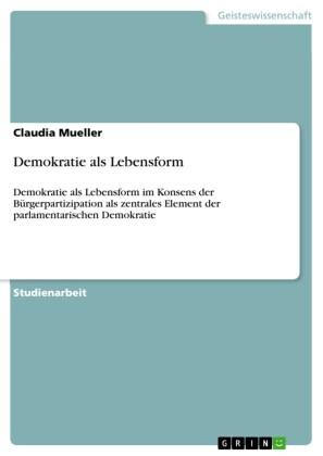 Demokratie als Lebensform