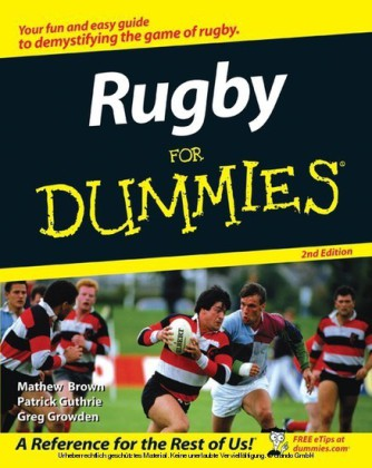 Rugby For Dummies,