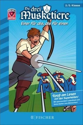 Helden-Abenteuer: Die drei Musketiere - Einer für alle, alle für einen