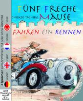 Fünf freche Mäuse fahren ein Rennen, m. DVD