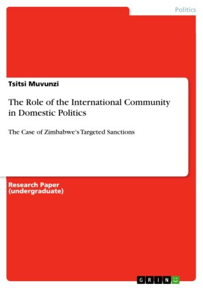 The Role of the International Community in Domestic Politics