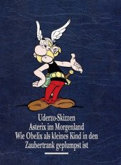 Uderzo Skizzen; Asterix im Morgenland; Wie Obelix als kleines Kind in den Zaubertrank geplumpst ist Cover