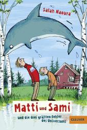 Matti und Sami und die drei größten Fehler des Universums Cover