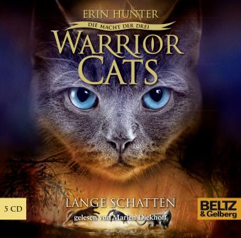 Warrior Cats - Die Macht der Drei, Lange Schatten, 5 Audio-CDs