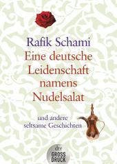 Eine deutsche Leidenschaft namens Nudelsalat, Großdruck Cover